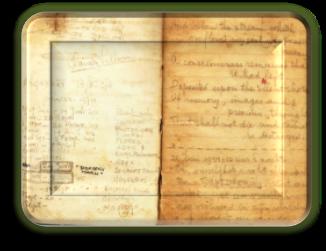 Buitenkant dagboek
